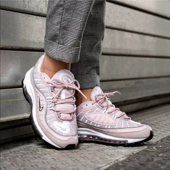 Nike Shoes Womens Air Max 98 Barely Pink Sneakers Poshmark